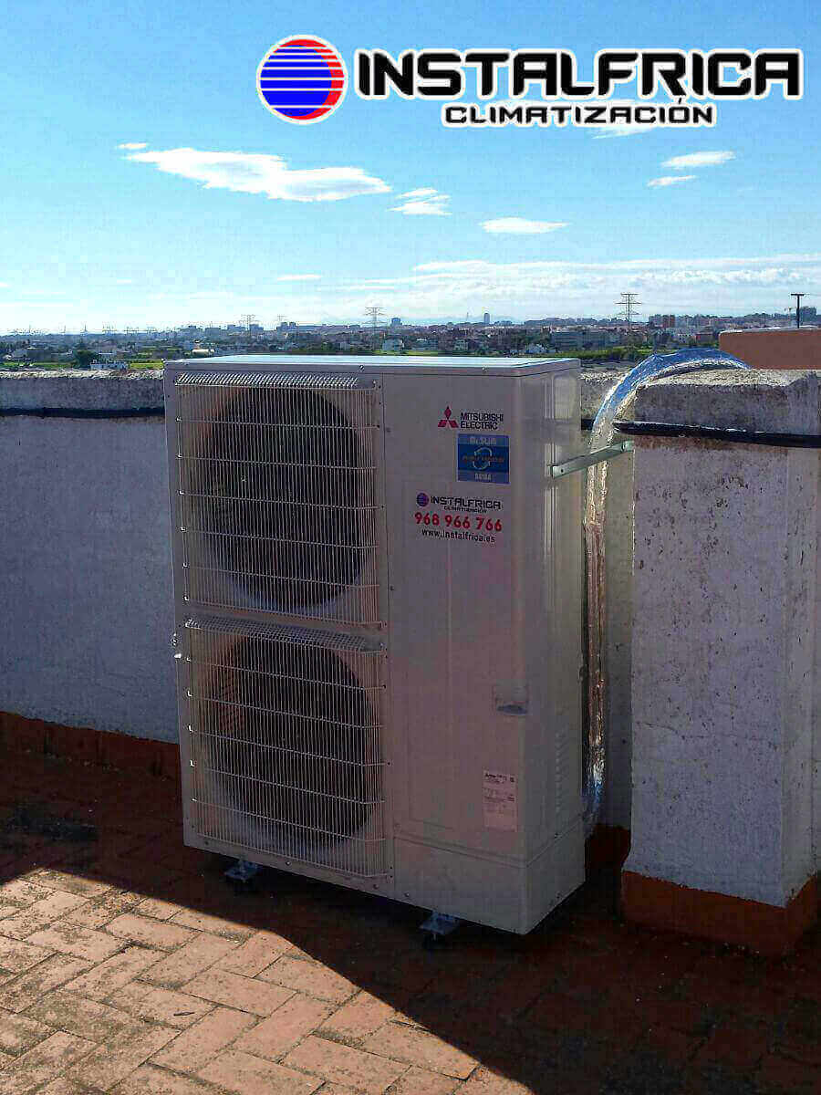 instalaci n de aire acondicionado en valencia mitsubishi pezs