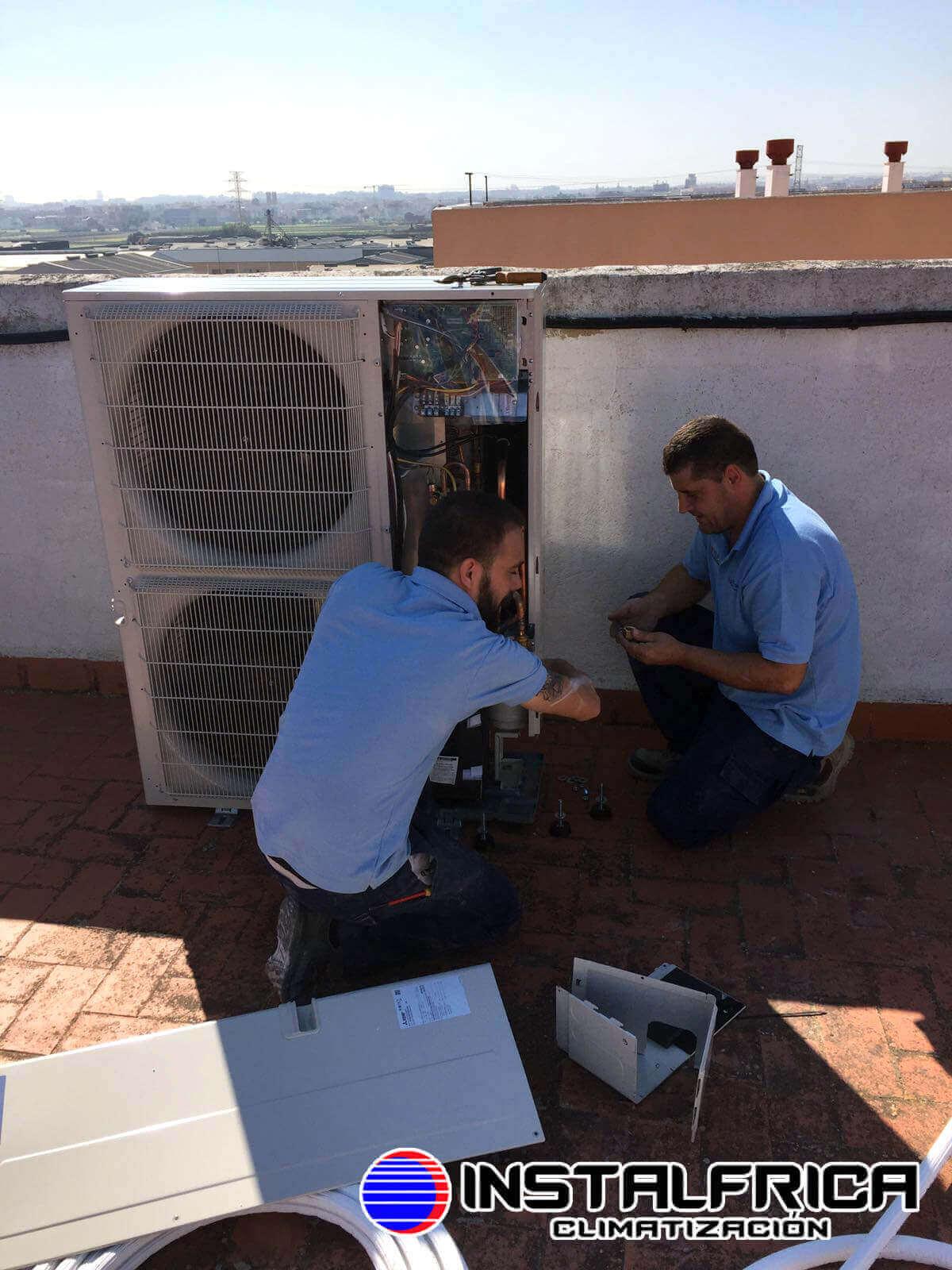 instalador aire acondicionado en valencia
