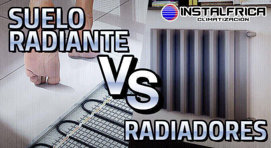 suelo radiante o radiadores