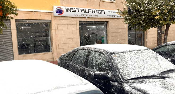 Nieve Murcia Instalfrica