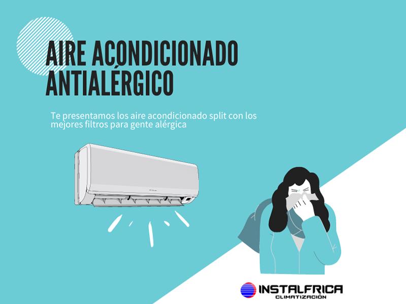 aire acondicionado antialérgico