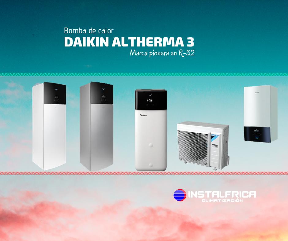 Aerotermia Daikin Altherma 3 de instalfrica