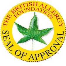 sello de aprobación alergicos