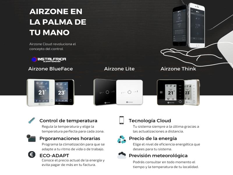 Airzone termostatos