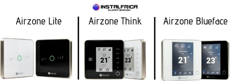 Termostatos Airzone Instalfrica