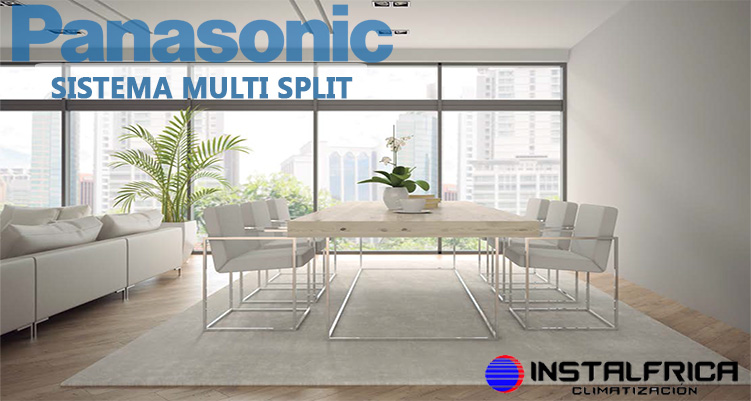 MULTI SPLIT PANASONIC INSTALFRICA