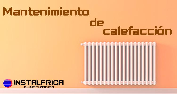 mantenimiento de calefacción murcia instalfrica