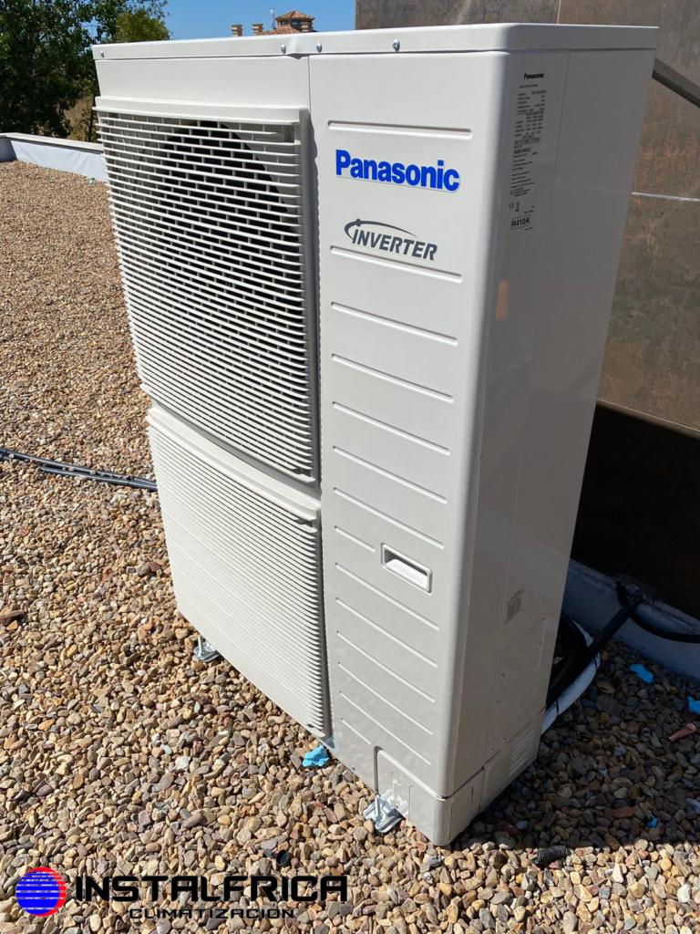 Aerotermia Panasonic en Instalfrica