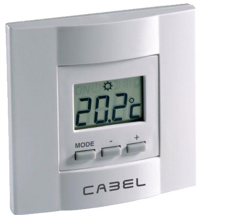 termostato cabel de suelo radiante
