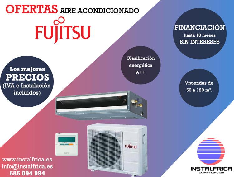 oferta aire acondicionado fujitsu