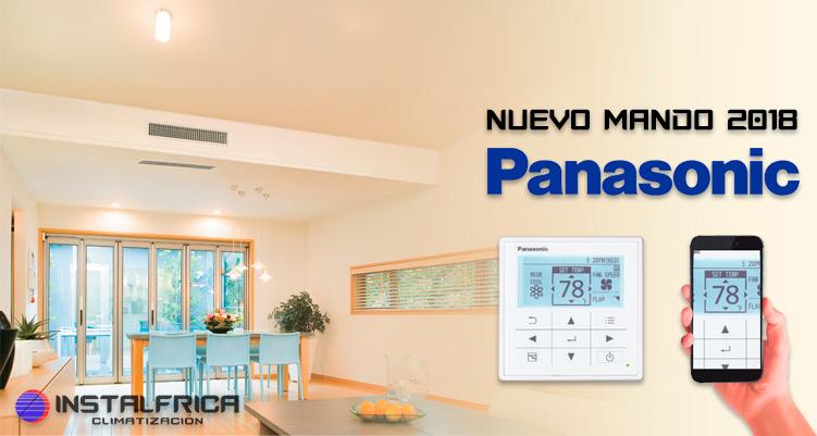 nuevo mando aire acondicionado Panasonic CZ-RTC5B