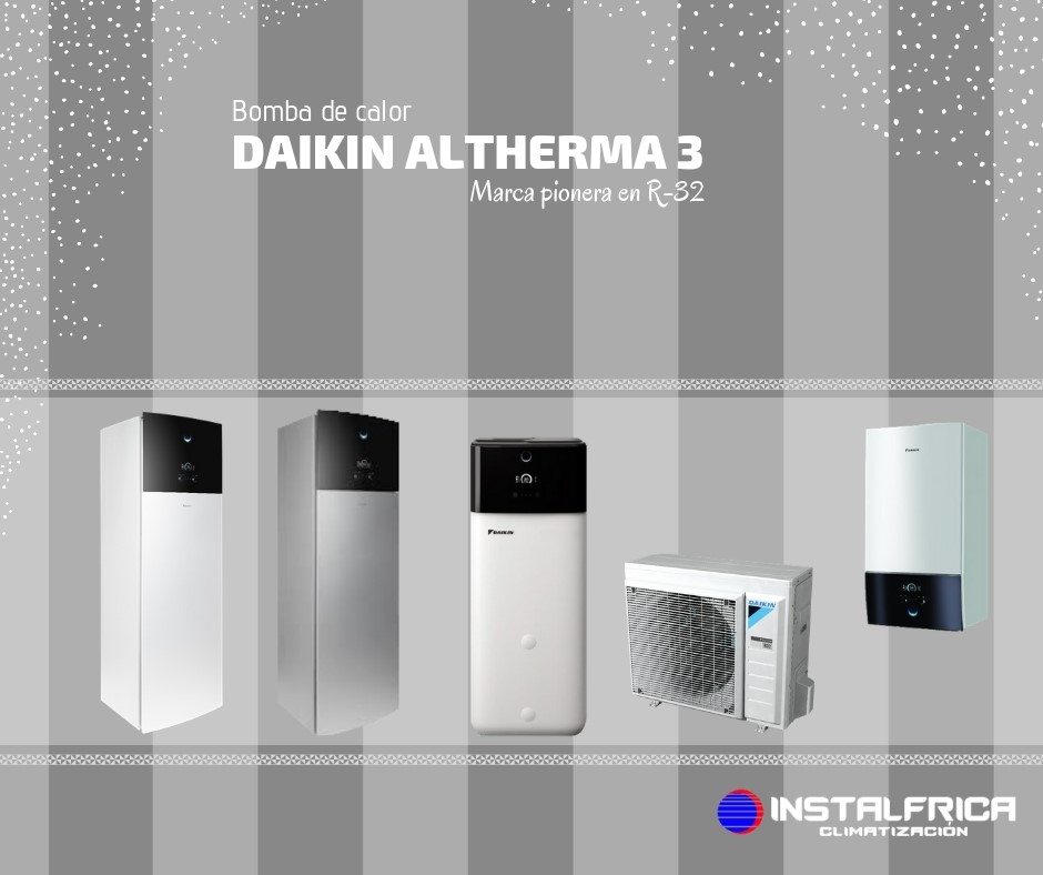 bomba de calor daikin altherma 3