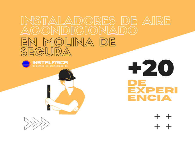 Instaladores de aire acondicionado en Molina de segura