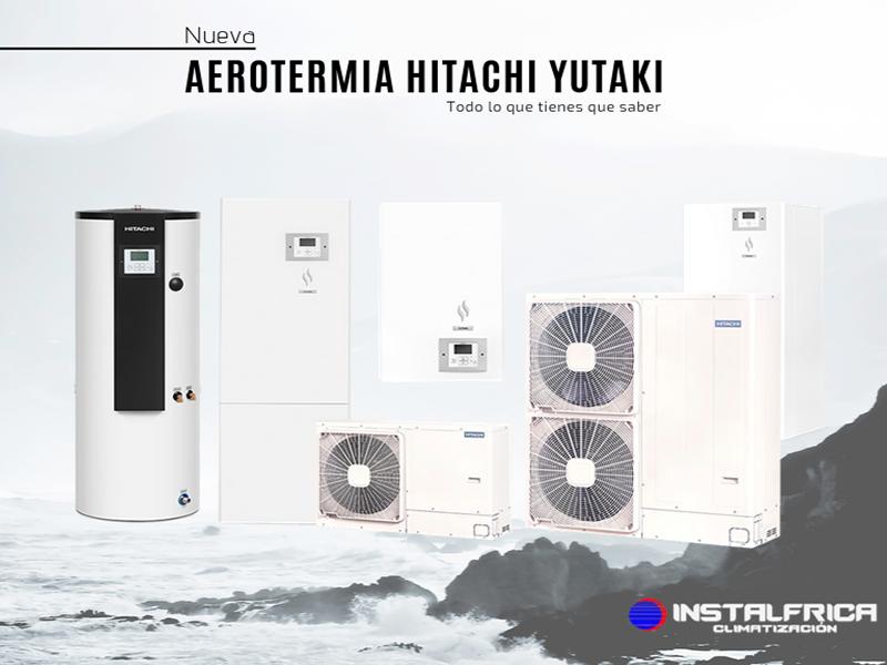 AEROTERMIA HITACHI YUTAKI por Instalfrica