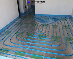 Instalación 4 suelo radiante en madrid por instalfrica